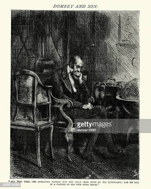 Dickens's Dombey and Son - The bereaved father