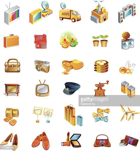different types of objects - television aerial stock illustrations, clip art, cartoons, & icons