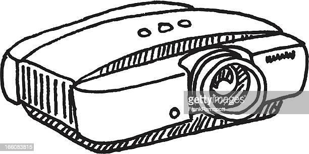 Digital Projector Sketch
