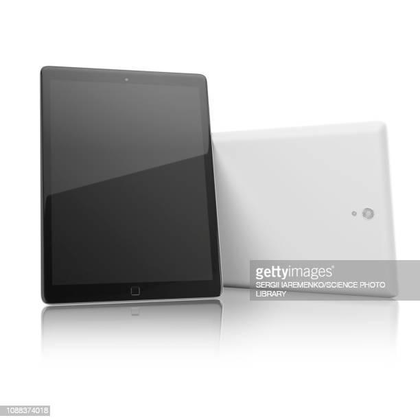 digital tablet, illustration - touch sensitive stock illustrations