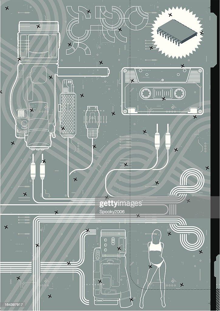 Digital video camera design.