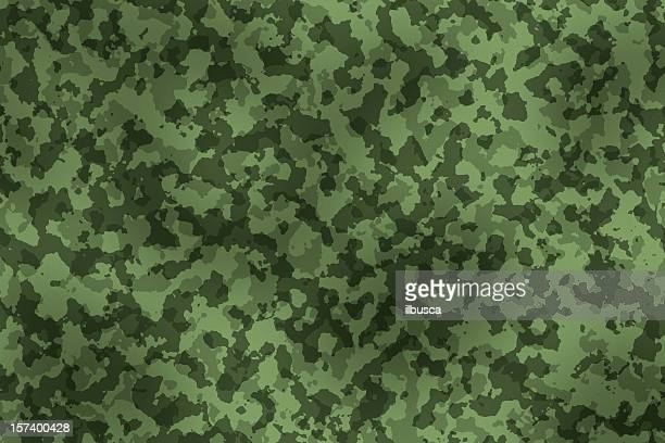 digitally generated military camouflage fabric texture - camouflage stock illustrations