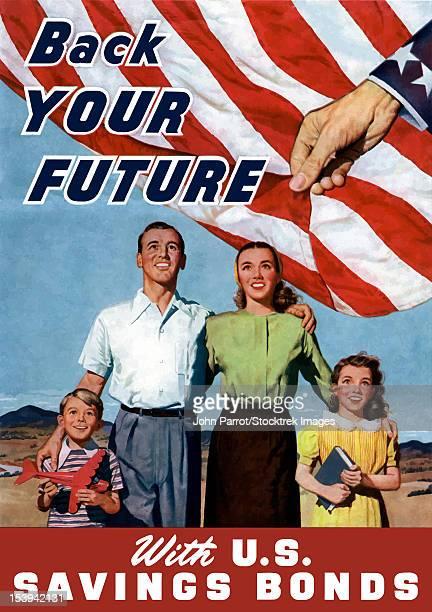 digitally restored war propaganda poster. - propaganda stock illustrations