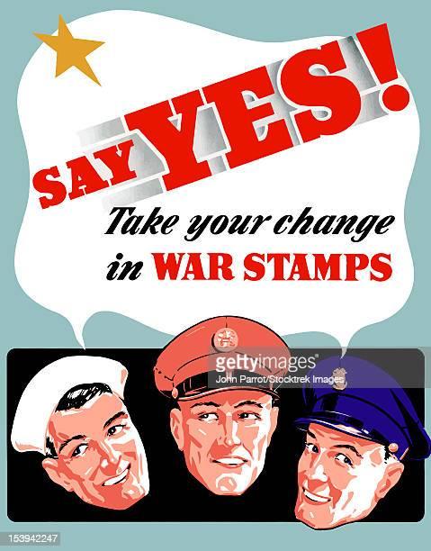 digitally restored war propaganda poster. - us marine corps stock illustrations, clip art, cartoons, & icons