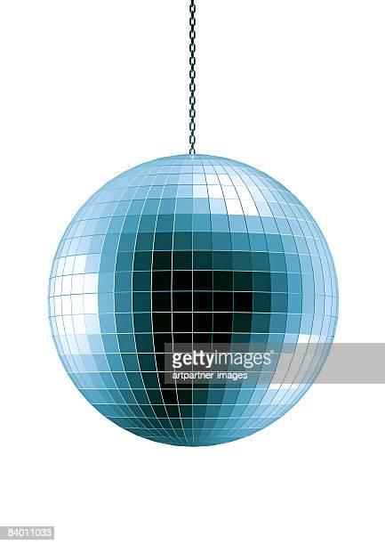 disco ball on white background - shiny stock illustrations