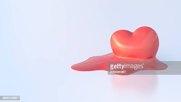 Dissolving heart