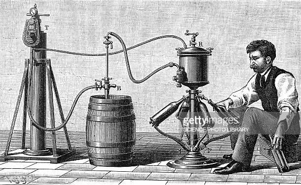 distillery worker, illustration - old fashioned stock illustrations