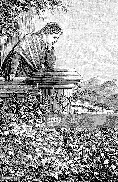 Distressed Man - Victorian Illustration