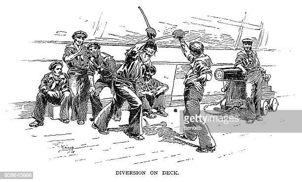 Diversion on deck