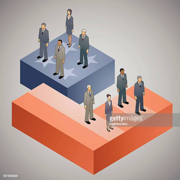 Divided America Illustration