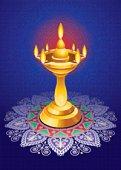 Diwali Mandala Lamp