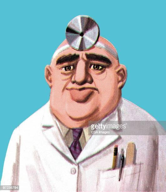 ilustrações, clipart, desenhos animados e ícones de doctor - sobrancelha