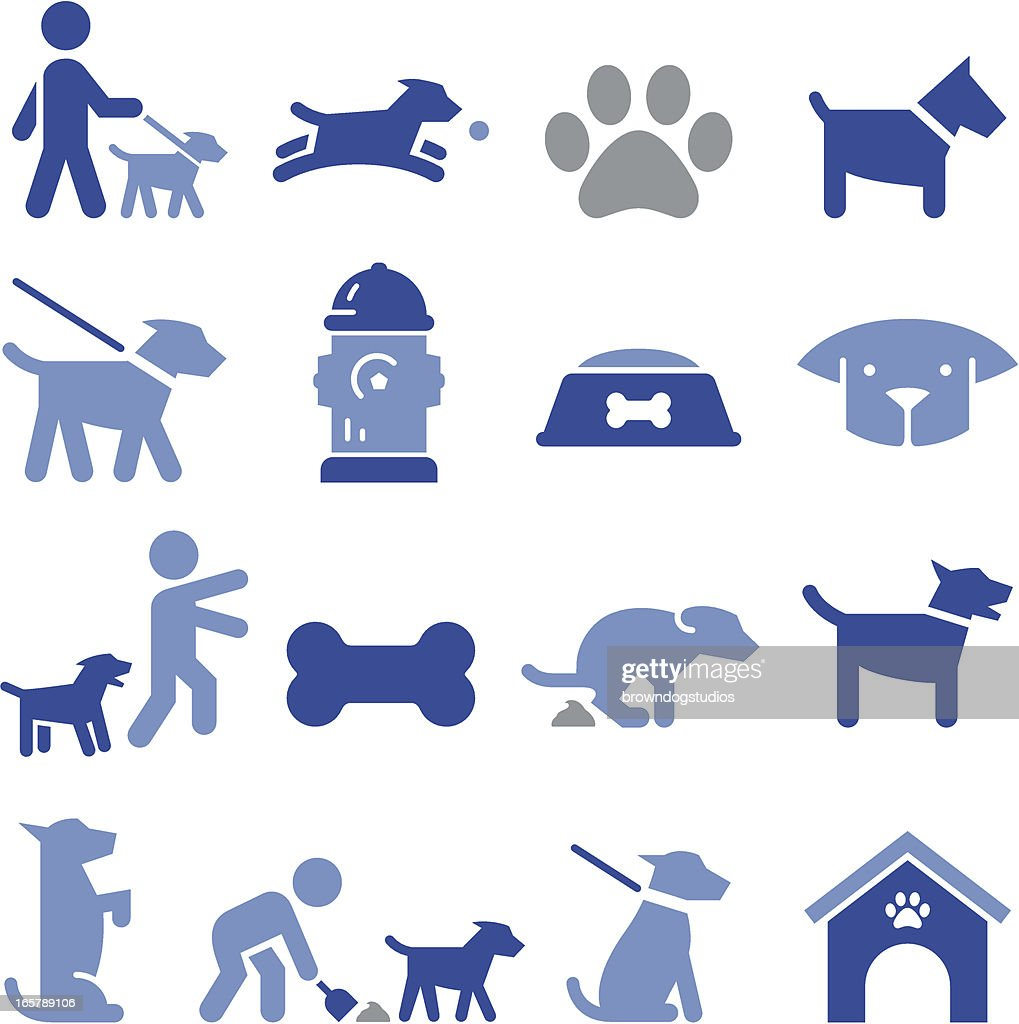 Dog Icons - Pro Series