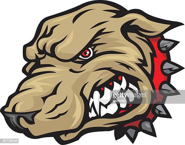 ilustraciones, imágenes clip art, dibujos animados e iconos de stock de perro mascota - pit bull terrier