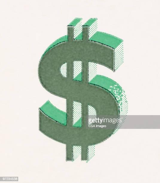 dollar sign - dollar sign stock illustrations
