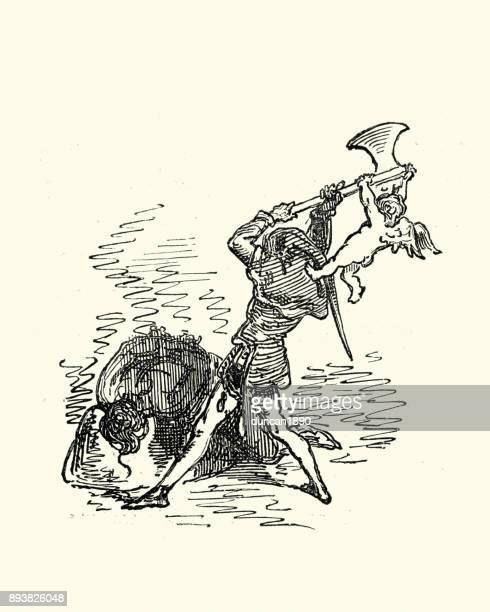 Don Quixote, Executioner and cupid