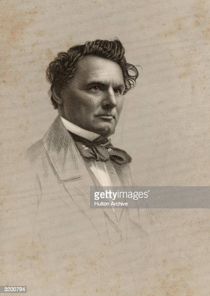Donald McKay an American shipbuilder and designer who built the best and fastest packets and clipperships of 184569 in his East Boston yards...