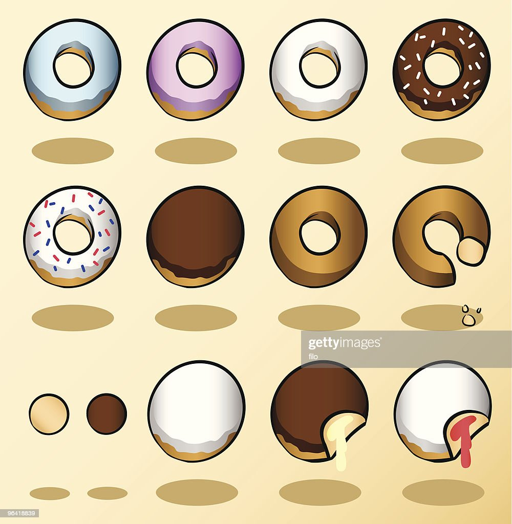 Donuts : stock illustration