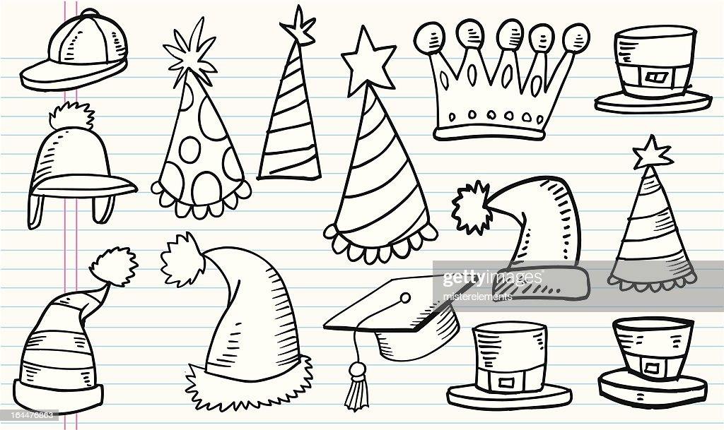 Doodle Hat Set