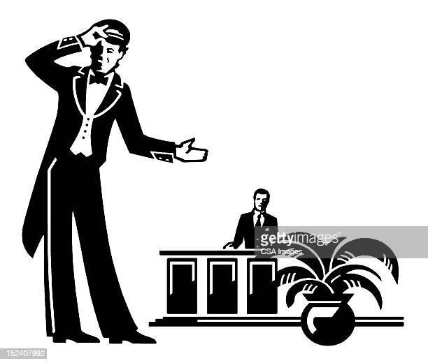 Doorman and Front Desk Clerk