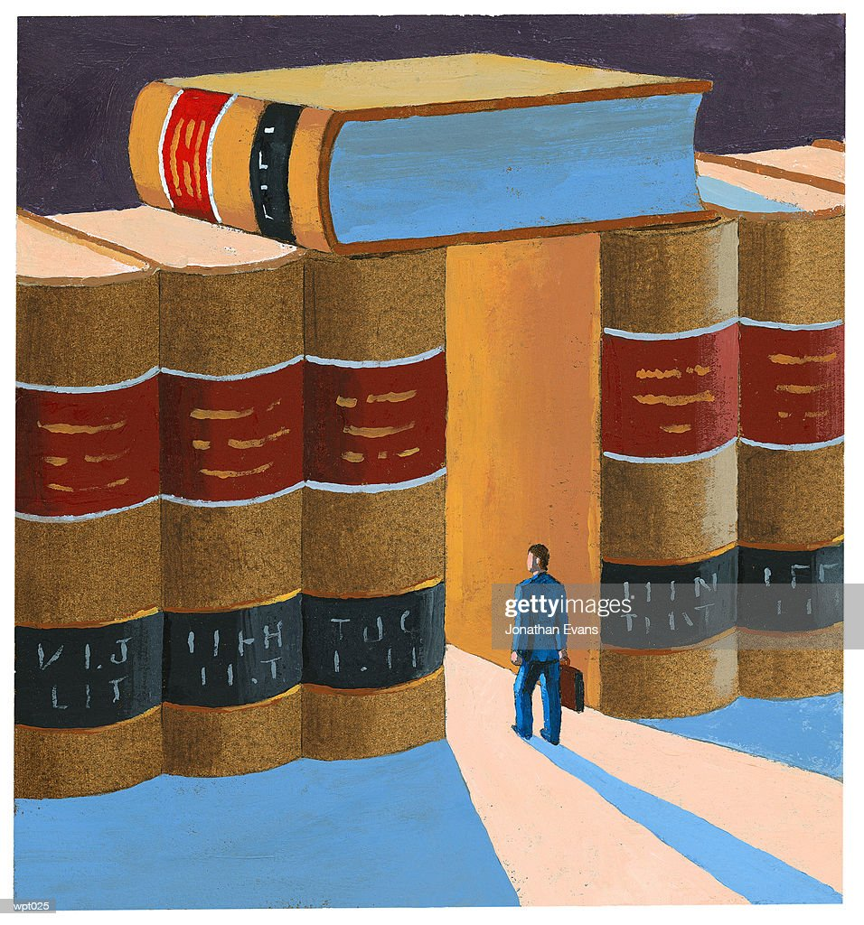 Doorway to Knowledge : Stock Illustration