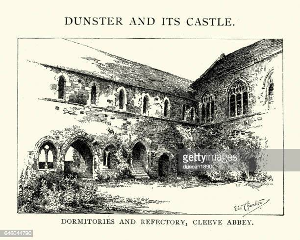 Dormitories and refectory of Cleeve Abbey
