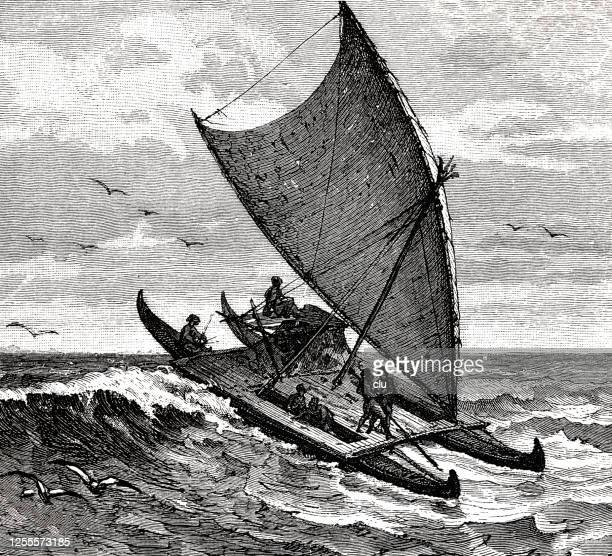 31 Pirogue High Res Illustrations - Getty Images