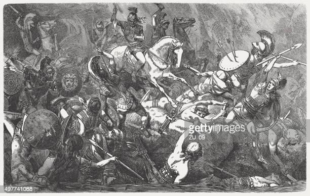 downfall アテネの中になって、1882 年戦争発行 - 軍事演習点のイラスト素材/クリップアート素材/マンガ素材/アイコン素材