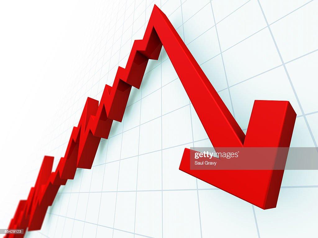 Downturn : Stock Illustration