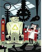 Dr. Frankenstein Recycles