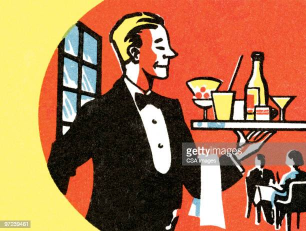 draftsman - butler stock illustrations, clip art, cartoons, & icons