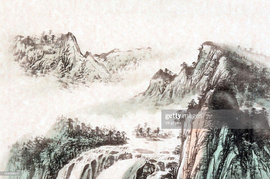 Landschaft : Stock-Illustration