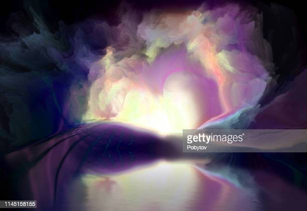 dream land - atmospheric mood stock illustrations, clip art, cartoons, & icons