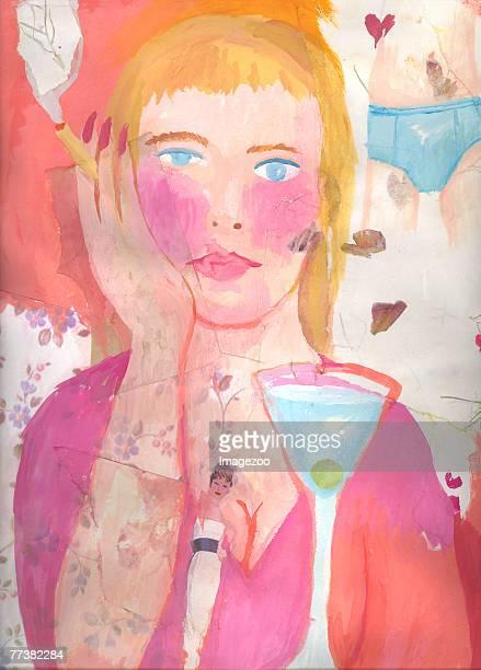 illustrations, cliparts, dessins animés et icônes de dreaming of her man - mal à l'aise