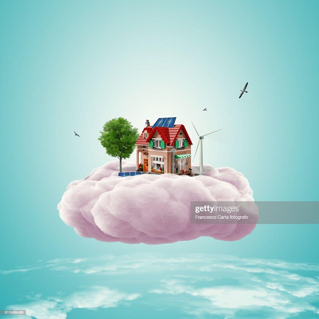 Dreams' house : Ilustración de stock