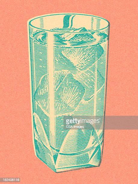 drink with ice - happy hour stock illustrations, clip art, cartoons, & icons