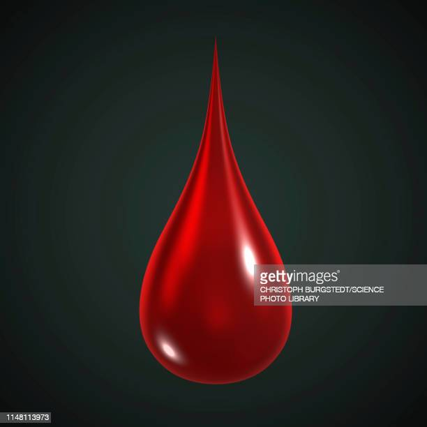 drop of blood, illustration - drop stock illustrations