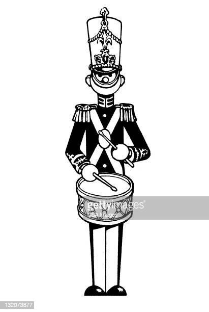 Drumming Toy Soldier