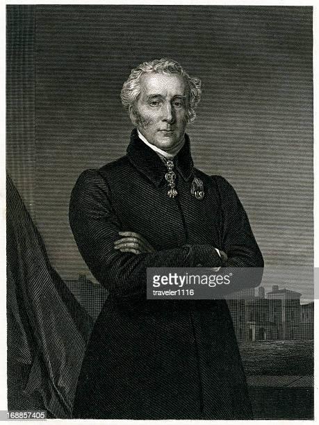 duke of wellington - peerage title stock illustrations