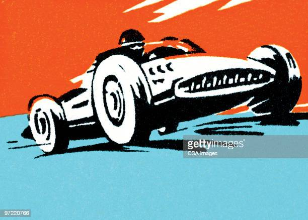 dune buggy - race car stock illustrations, clip art, cartoons, & icons