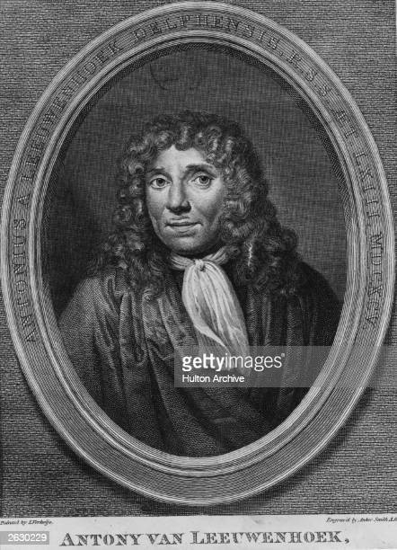 Dutch naturalist and famous microscopist Anthony von Leeuwenhoek who made a series of epochmaking discoveries about the circulation of the blood...