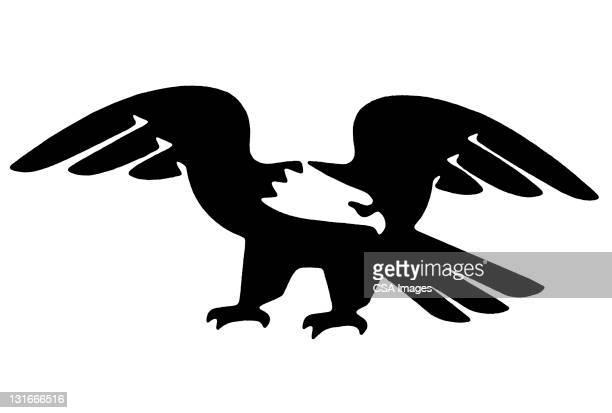 eagle - bald eagle stock illustrations