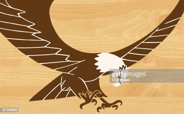 eagle - talon stock illustrations