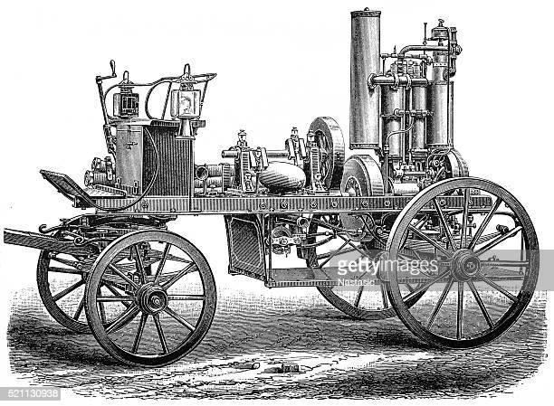 ilustrações de stock, clip art, desenhos animados e ícones de do motor de fogo - carro de bombeiro