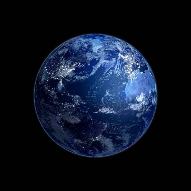 Earth At Night, Artwork Wall Art