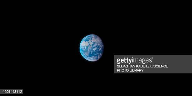 earth from space, illustration - planet space stock illustrations