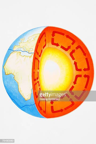 Earths Core Stock Illustrations And Cartoons