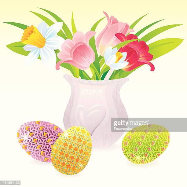 Ostern-Bouquet