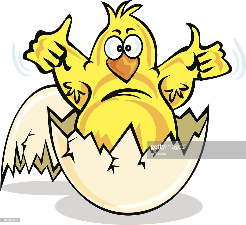 Easter Chick Cartoon