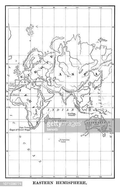 Eastern Hemisphere map